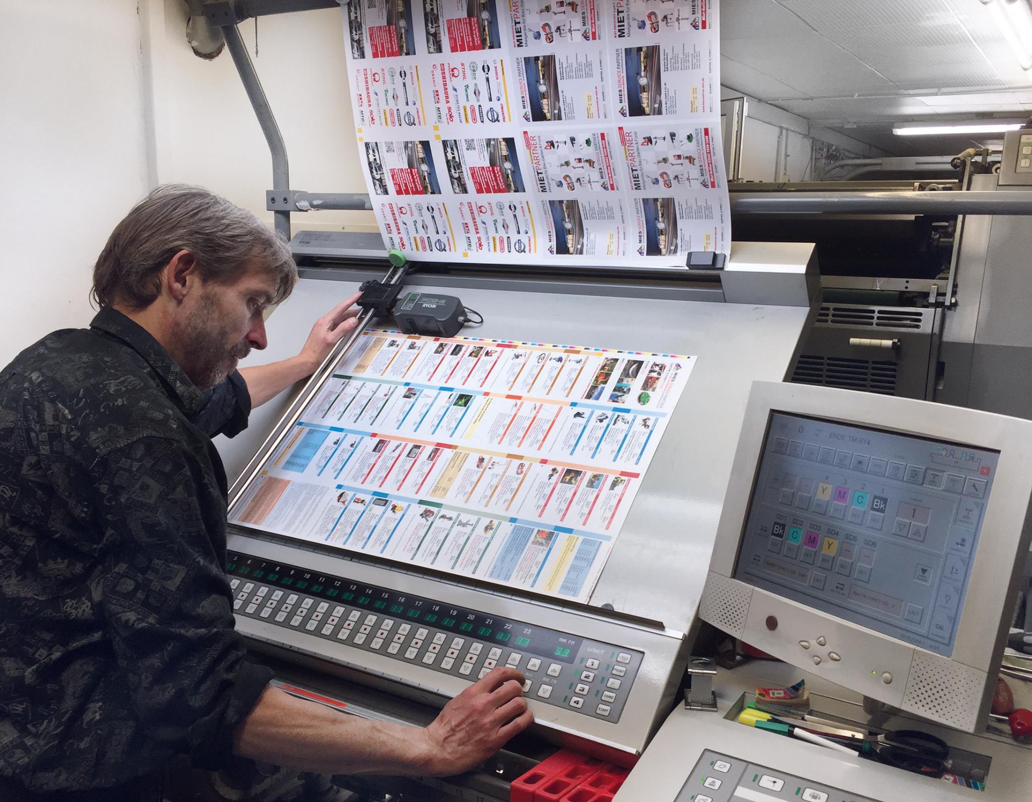Drucken von Preislisten in Hachenburg